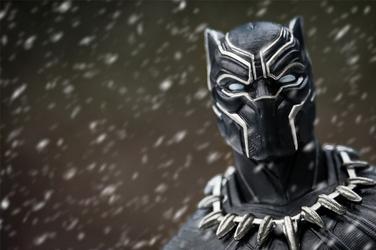 Black panther t-challa - plakat wymiar do wyboru: 60x40 cm