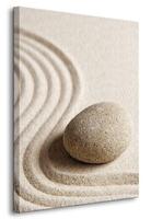 Wzory na piasku - obraz na płótnie