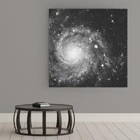 Galaktyka - obraz na płótnie , wymiary - 100cm x 100cm