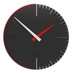 Zegar ścienny do przedpokoju exacto 36 cm calleadesign antracytowy 10-025-4