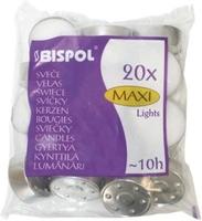 Bispol maxi, podgrzewacze, 20 sztuk