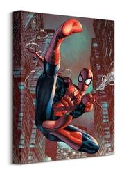 Spider-man web sling - obraz na płótnie