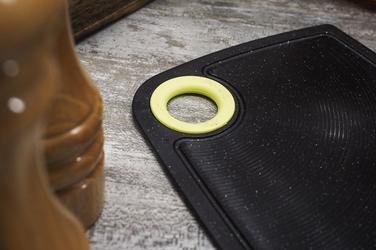 Practic deska do krojenia antypoślizgowa 24 x 16 cm czarna