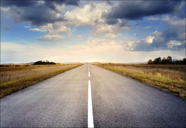 Droga - plakat wymiar do wyboru: 84,1x59,4 cm