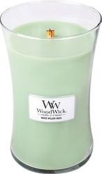 Świeca core woodwick white willow moss duża
