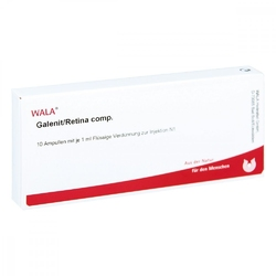 Galenit retina comp. amp.