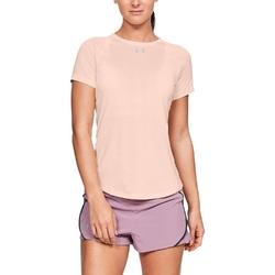 Koszulka damska ua qualifier short sleeve - pomarańczowy