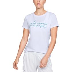 Koszulka damska tech script graphic ssc - biały