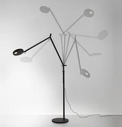 Artemide :: lampa podłogowa demetra led floor anthracite grey