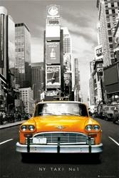 New York taxi no 1 - plakat
