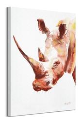Nosorożec - obraz na płótnie
