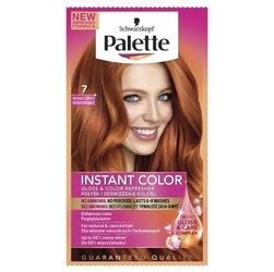 Palette, instant color, szamponetka koloryzująca do włosów, 07 intensywna miedź