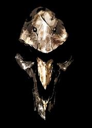 Overwatch - reaper - plakat wymiar do wyboru: 30x40 cm