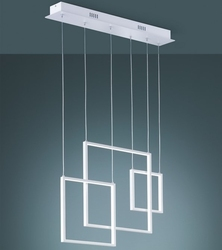Designerska lampa wisząca do salonu tucson