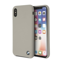 Etui bmw hard case iphone x signature silicone