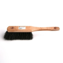 Zmiotka  miotełka drewniana włosie końskie starmann, jasne drewno
