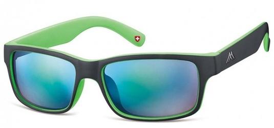 Okulary klasyczne montana ms27e zielone revo
