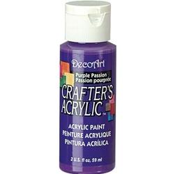 Farba akrylowa Crafters Acrylic 59 ml- purpurowy - PUR