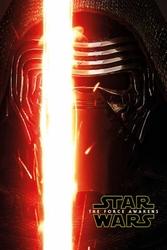 Gwiezdne Wojny VII Przebudzenie Mocy Kylo Ren Zwiastun - plakat