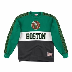 Bluza mitchell  ness leading scorer fleece crew boston celtics - fcnkdf18025-bcekygn - boston celtics