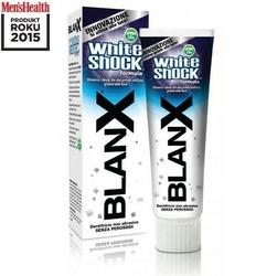 Blanx white shock wybielająca pasta do zębów 75ml produkt roku mens health
