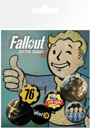 Fallout 76 T51b - przypinki