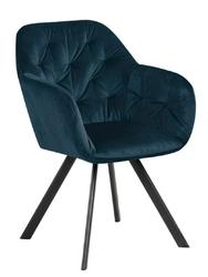 Krzesło lola vic navy blue auto return - niebieski