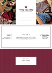 Karta podarunkowa na spodnie chino luxury szyte na miarę van thorn e-voucher pdf