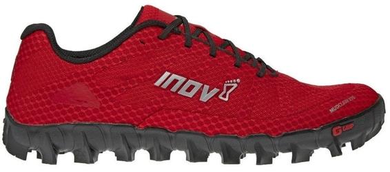 Buty inov-8 mudclaw 275 czerwono-czarne damskie