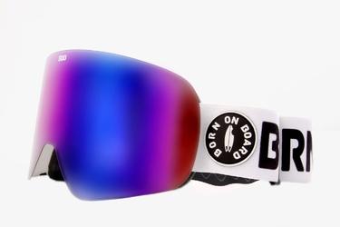 Gogle narciarskie  snowboardowe bob milky way