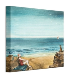 High tide - obraz na płótnie