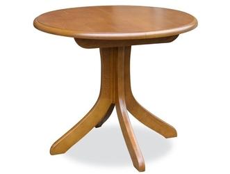 Okrągły rozkładany stół ala  90-125 cm