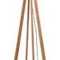 Goodmojo :: lampa podłogowa drewniana everest 60x30cm czarna