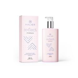 halier reflect shampoo szampon przywracający blask i zdrowy wygląd włosom farbowanym  250 ml