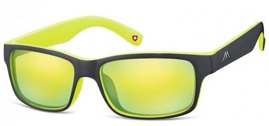 Okulary klasyczne montana ms27b żółte revo