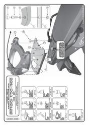 Givi sr5107 mocowanie centralne monokey z płytą bmw f 650 gs  f 800 gs 08  15