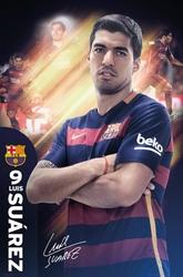 FC Barcelona - Luis Suarez 1516 - plakat