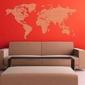 Mapa świata 3 naklejka