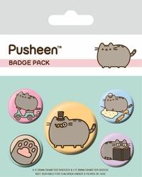 Pusheen Fancy - przypinki