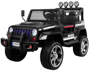 Jeep raptor drifter 4x4 s2388 czarny z napędem na 4 koła