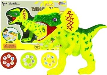 Projektor do nauki rysowania dinozaury 2w1