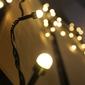 Lampki ogrodowe 200 led, mini żarówki, ciepłe białe