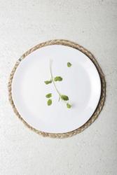 Urban nature culture unc urban biały talerz, śr. 25 cm 102523