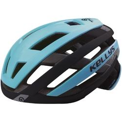 Kask rowerowy kellys result, kolor niebieski, rozmiar ml