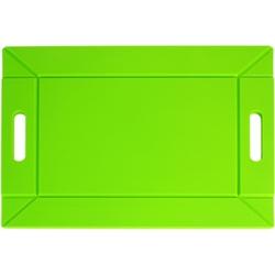Taca rozkładana bambusowo-silikonowa freeform zielona ff-ffbs1702grn