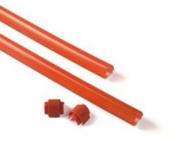 Xba13 - listwa gumowa czerwona, ochronna, 9x1m - zestaw z zaslepkami - zabezpieczajaca do ramion xba14, xba15, xba19 - szybka dostawa lub możliwość odbioru w 39 miastach