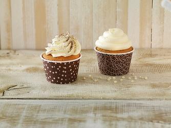 Papilotki do muffinów crinkle birkmann brązowe 24 sztuki 442 382