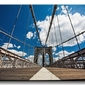 Brooklyn bridge - obraz na płótnie