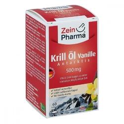 Krill öl antarktis 500 mg vanille kapsułki