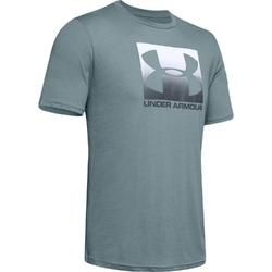 Koszulka męska under armour boxed sportstyle ss - szary